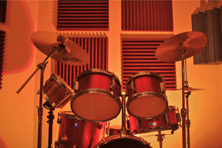trattamento acustico auralex roominator paf project studio 5